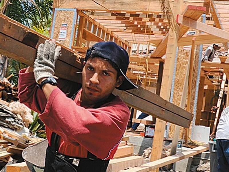 Mexicanos con el trabajo más pesado en Estados Unidos