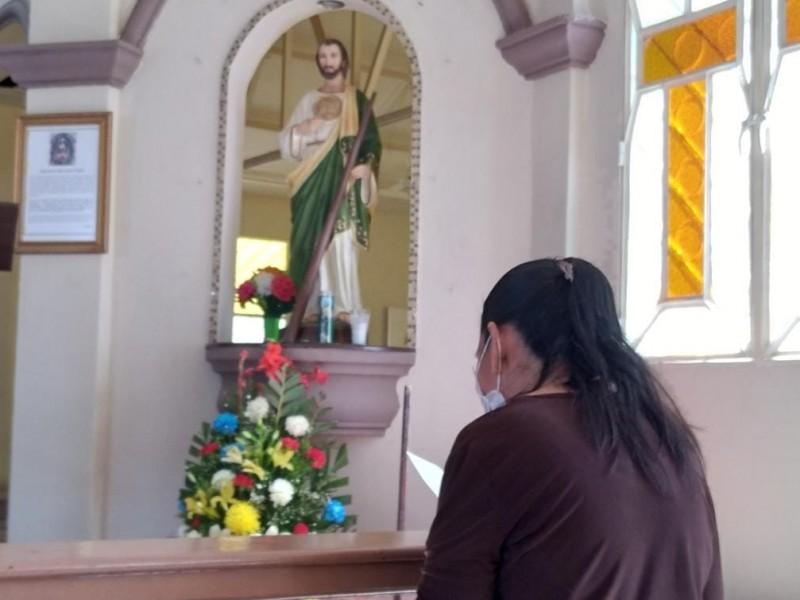 Mexicanos confían en intercesión de San Judas Tadeo