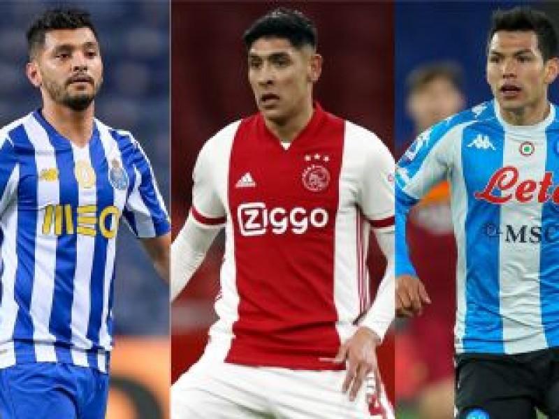Mexicanos en Europa: Edson anotó, vuelven Laínez y Lozano.