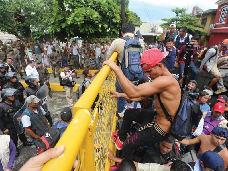 México activa Plan de Atención Caravana Migrante