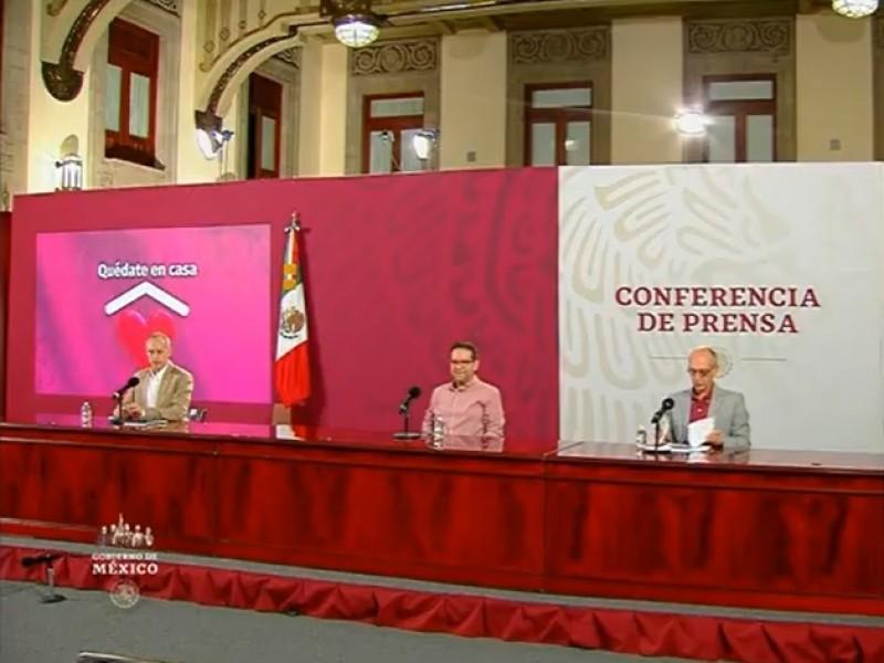 México acumula  60 mil 480 muertes confirmadas por covid-19