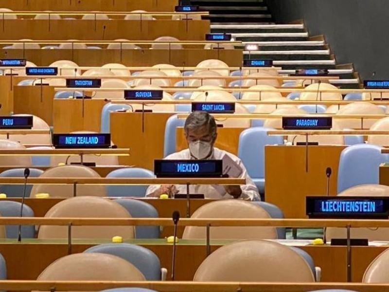 México al Consejo de Seguridad de ONU (por 5ta vez)