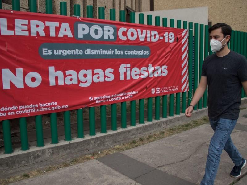 México alcanza las 153 mil 639 muertes por Covid-19