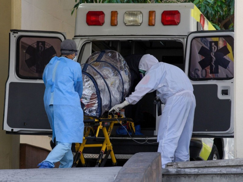 México alcanza las 218 mil muertes por Covid-19
