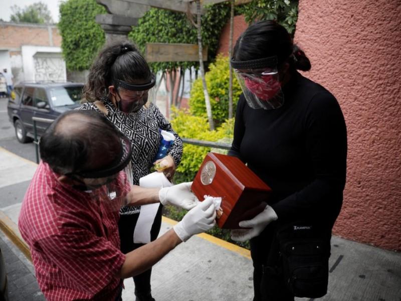 México alcanza las 25 mil 060 muertes por Covid-19
