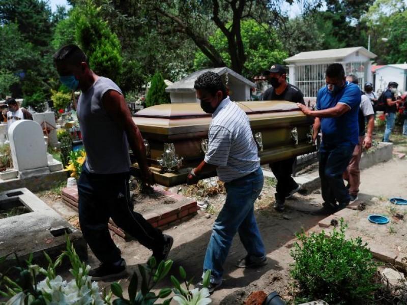 México alcanza las 42 mil 645 muertes por Covid-19