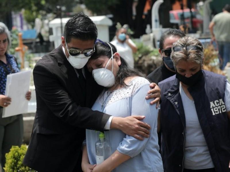 México alcanza las 54 mil 666 muertes por Covid-19