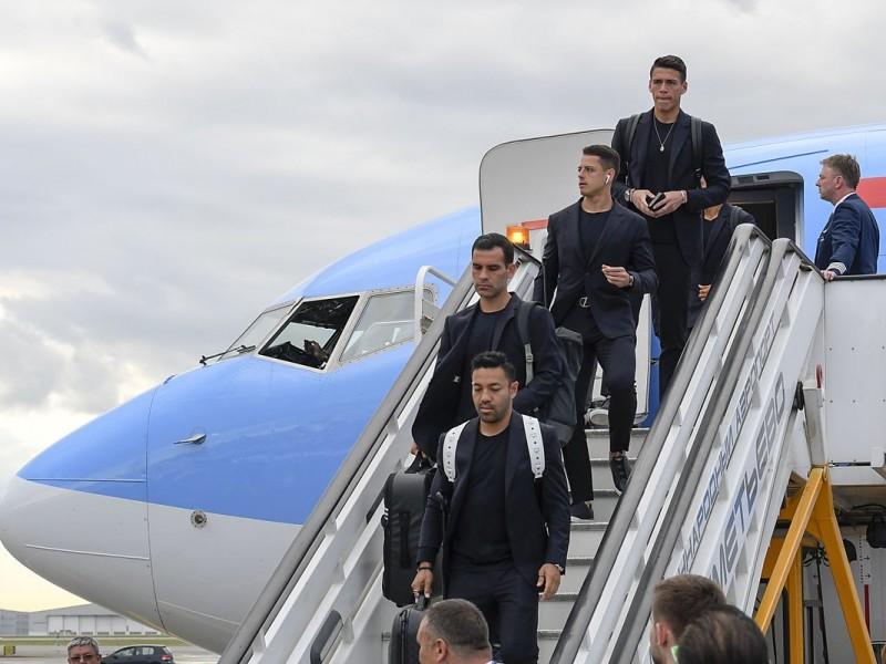 México ya arribó a Moscú