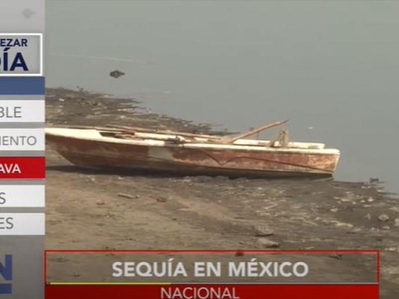 México atraviesa sequía histórica de agua