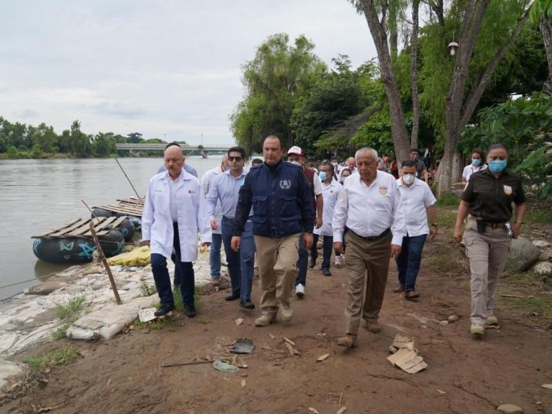 México blinda frontera con Guatemala