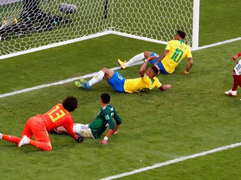 México cayó ante Brasil en el cuarto partido