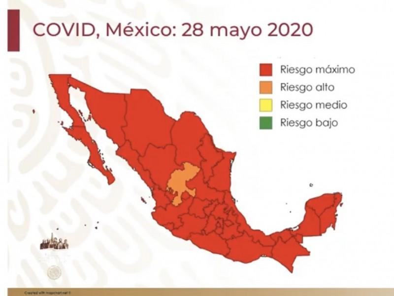 México concluye Jornada Nacional de Sana Distancia bajo riesgo máximo