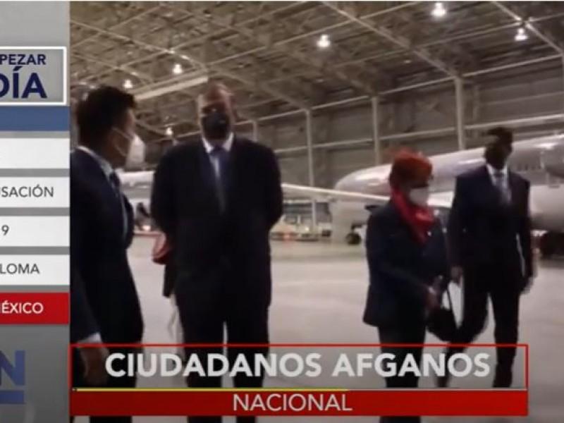 México continúa recibiendo a refugiados de Afganistán