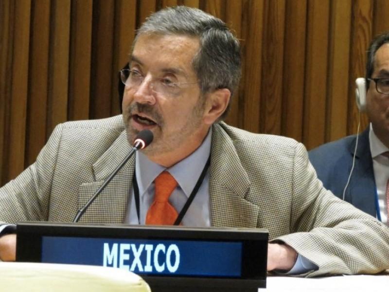 México critica desempeño del Consejo de Seguridad de la ONU