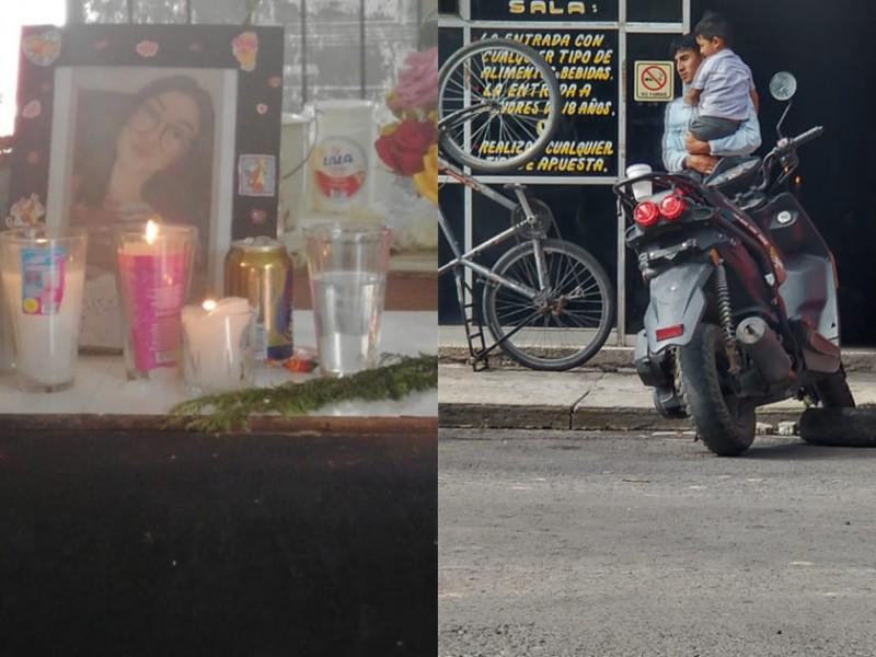 México-Cuernavaca: Dan el último adiós a Dana, víctima de accidente