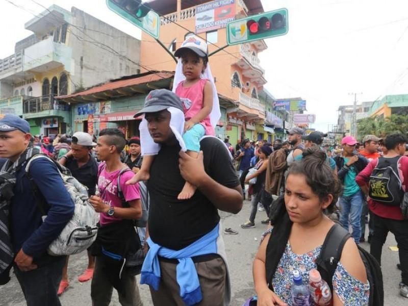 México devuelve a su país a 94 hondureños