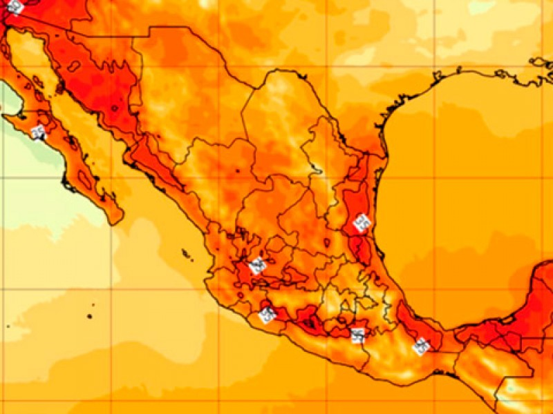 México eleva su temperatura 1.4ºc más que la media global