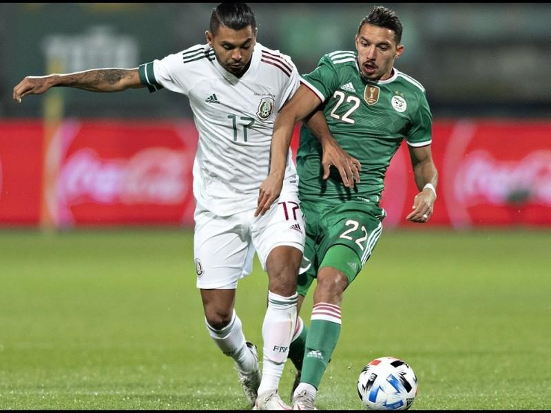 México empata contra Argelia en Holanda