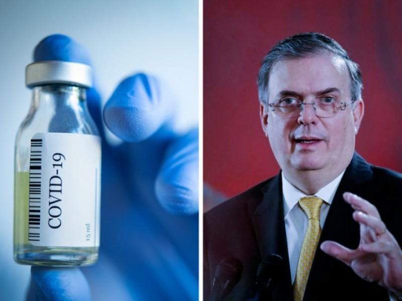 México entra a COVAX, tendrá vacunas antiCovid de OMS: Ebrard
