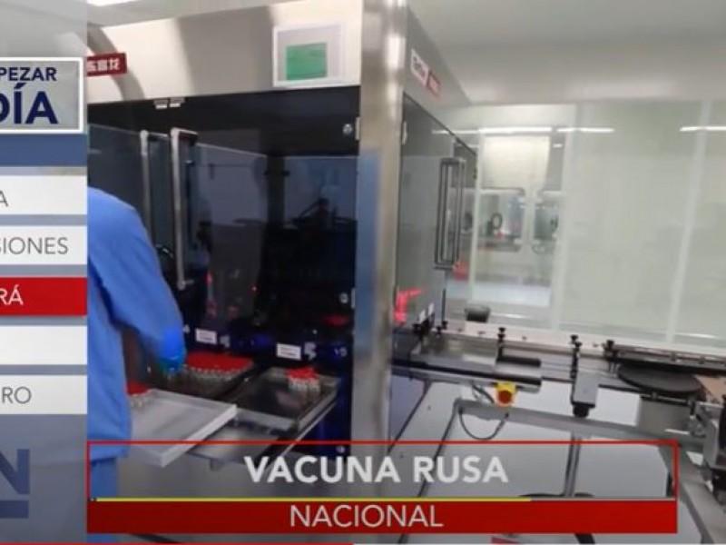 México envasará la vacuna rusa Sputnik-V