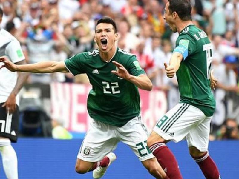 México hace historia y triunfa 1-0 sobre Alemania