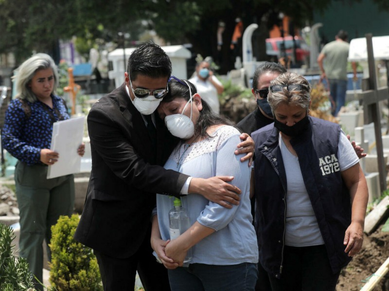 México llega a 285 mil 953 muertes por Covid-19