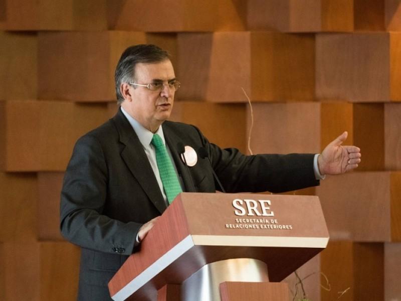 México no admitirá violación a soberanía nacional: Ebrard