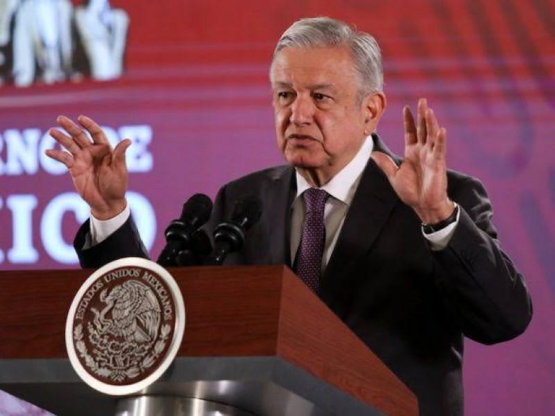 México no es tierra fértil para canallas: AMLO