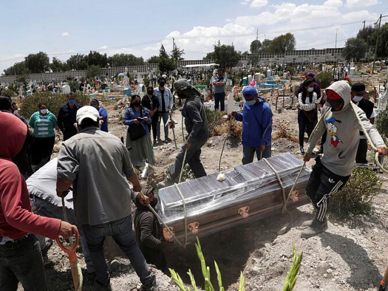 México rebasa las 39 mil muertes por Covid-19