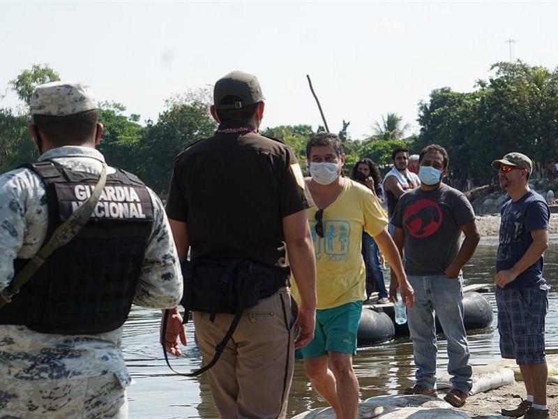 México refuerza seguridad en la frontera con Guatemala