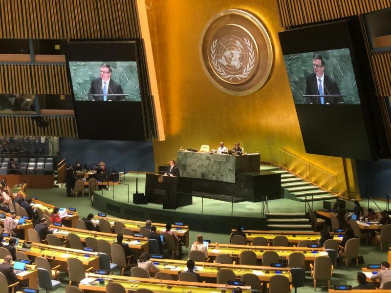 México refuerza su adhesión al sistema multilateral