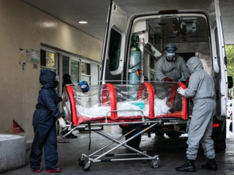 México registra  15 mil 876 nuevos contagios por Covid-19