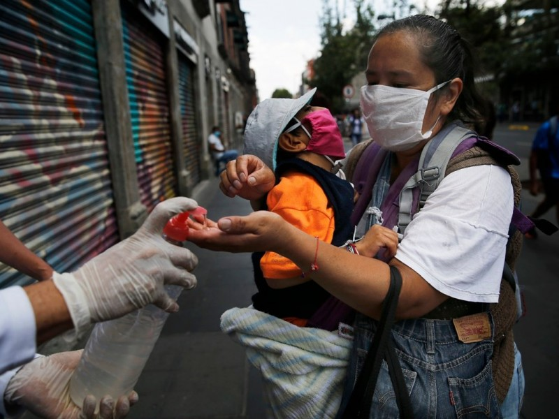 México registra 4 mil 250 casos nuevos de Covid-19