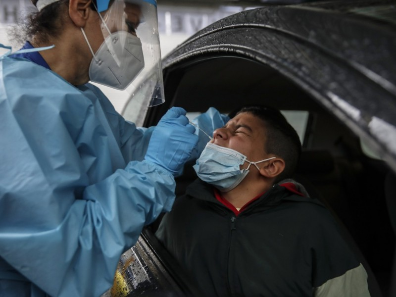 México registra 5 mil 340 nuevos casos de Covid-19