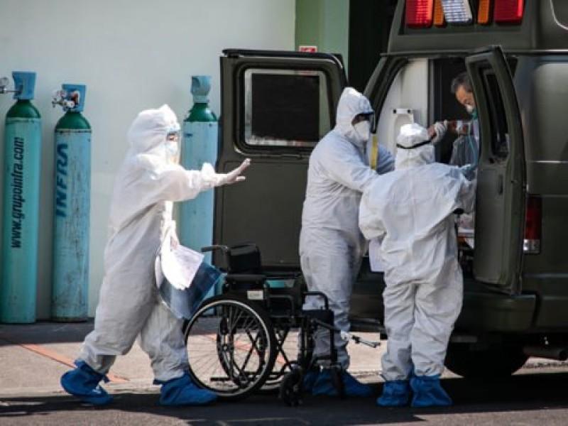 México registra 6 mil 543 nuevos contagios de Covid-19