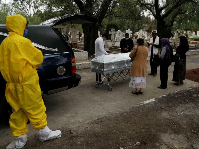 México rebasa las 280 mil muertes por Covid-19
