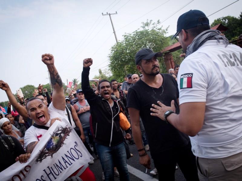 México regresa a 95 cubanos a su país
