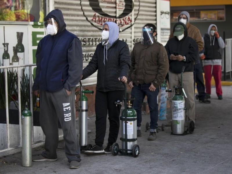 México reporta 7 mil 573 nuevos contagios de Covid-19