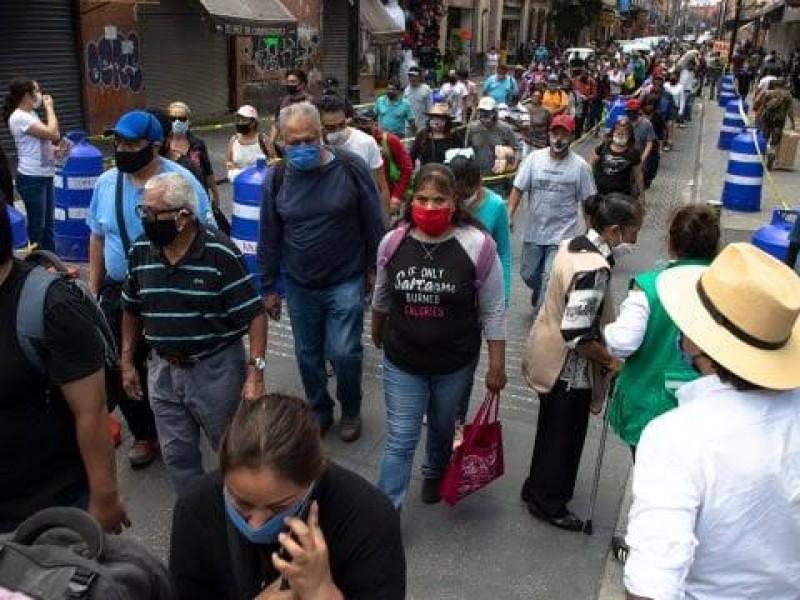 México rompe récord de contagios de Covid-19 en un día