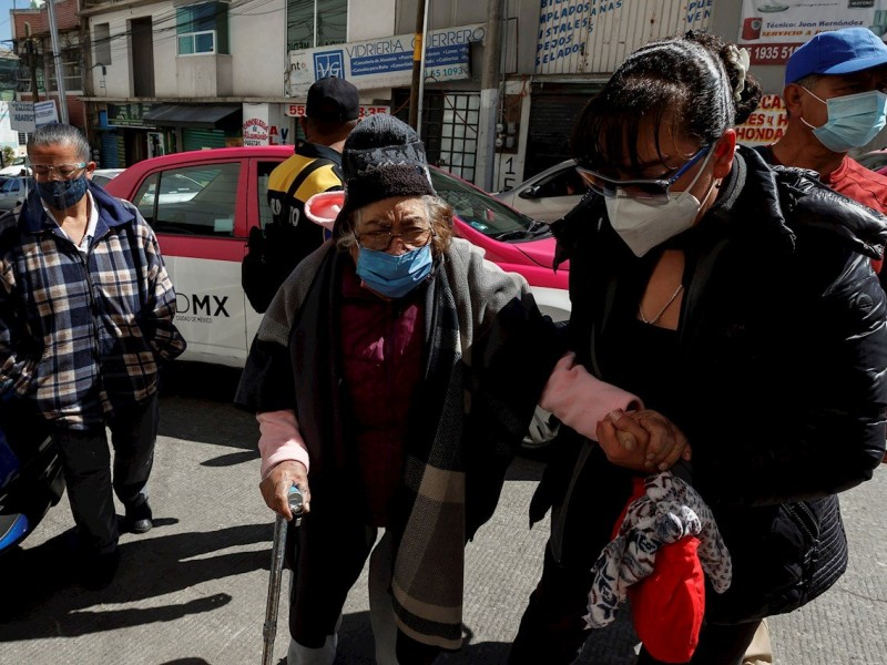 México: Se registran 1,071 muertes por Covid-19 en un día