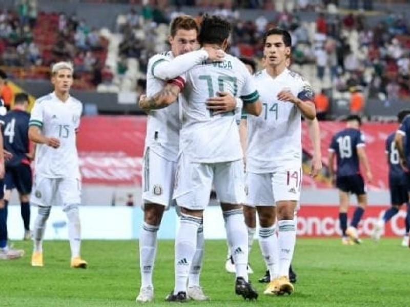 México semifinalista y líder del grupo en el preolímpico CONCACAF