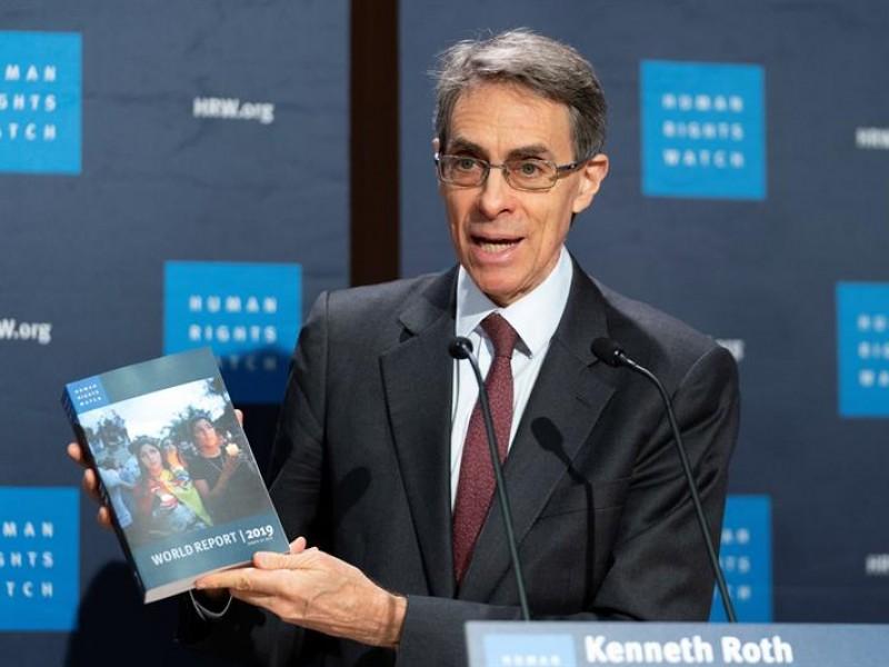 México señalado en informe mundial de HRW