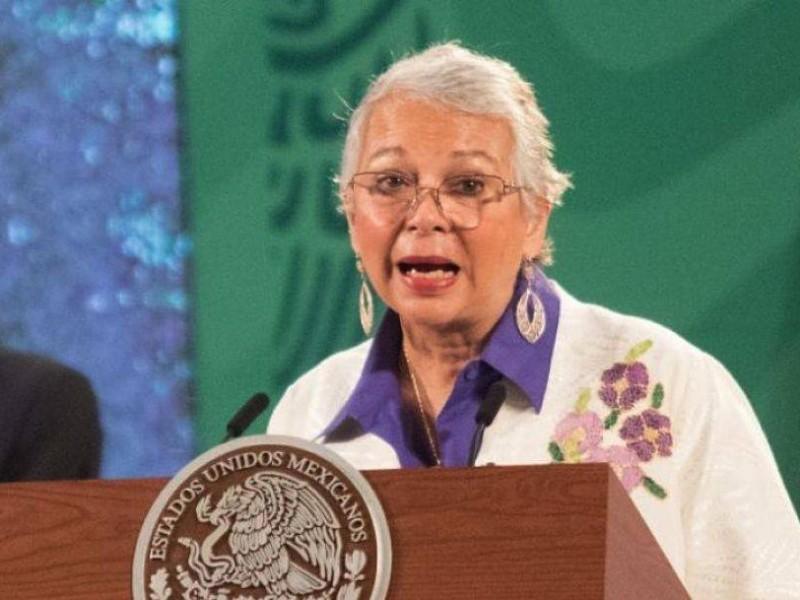 """""""México sigue teniendo deuda histórica con las mujeres"""": Olga Sánchez"""