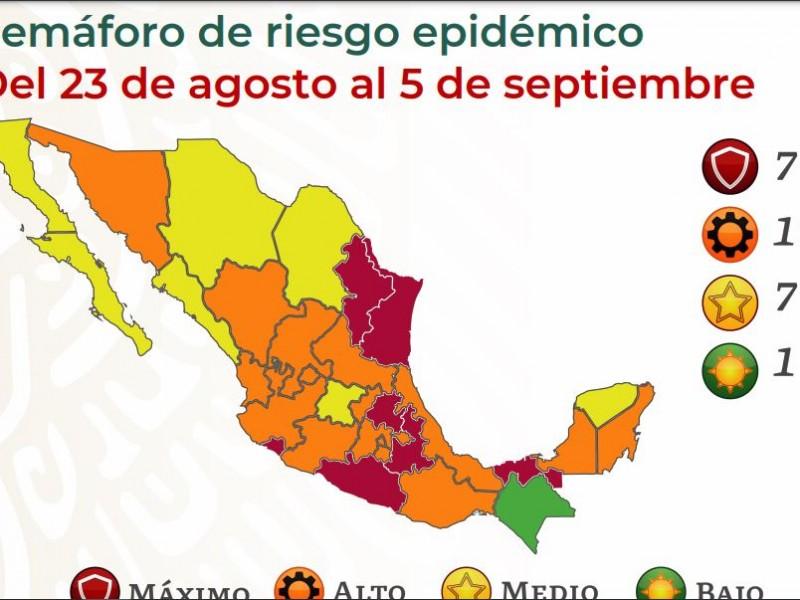México suma 21,897 contagios y 761 muertes por Covid-19