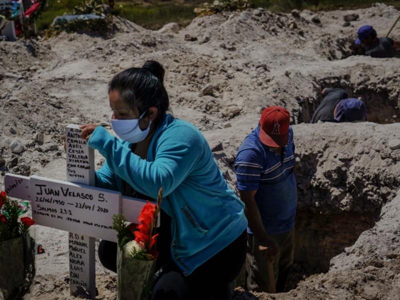 México supera las 48 mil muertes por Covid-19