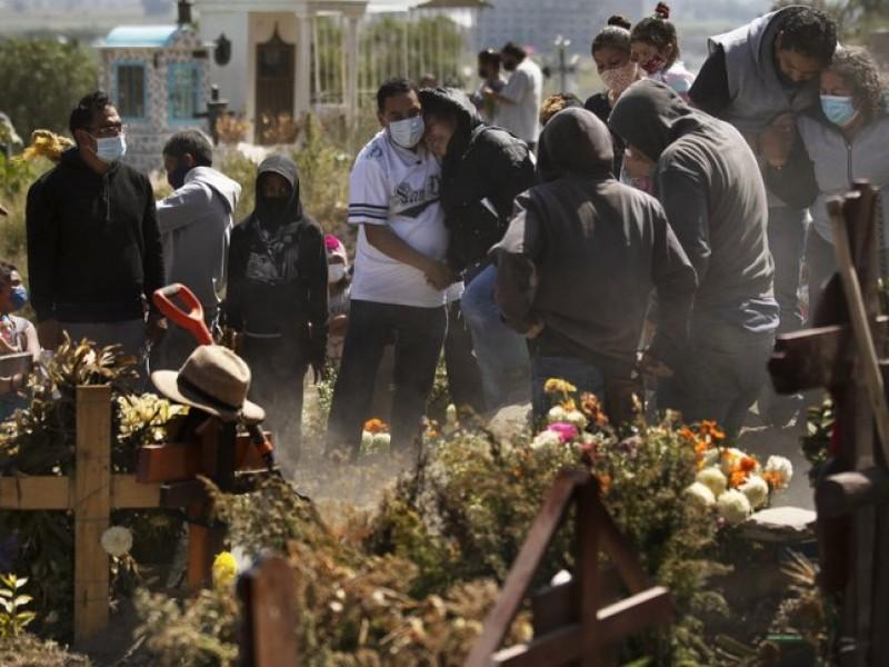 México supera las 92 mil muertes por Covid-19