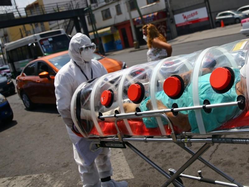México supera los 208 mil contagios de Covid-19