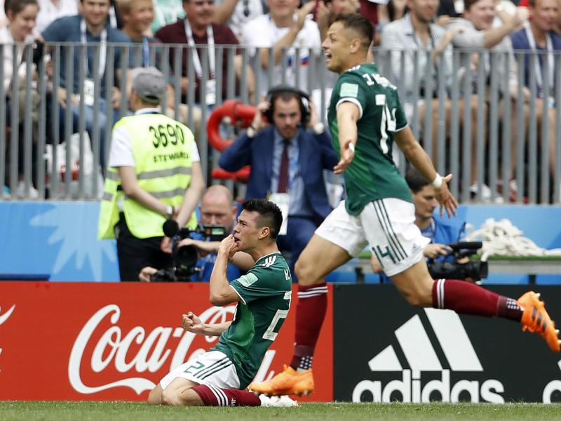 México vence a Alemania en su debut