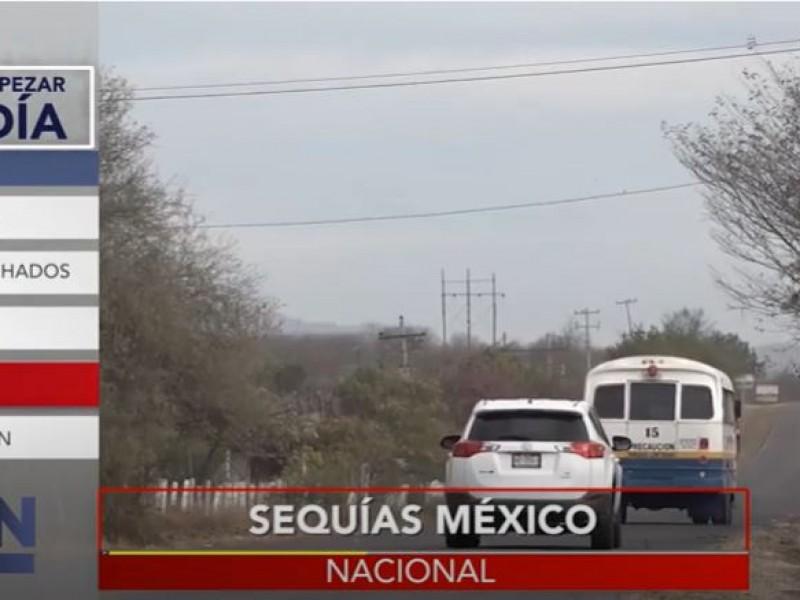 México vive la peor sequía en 20 años