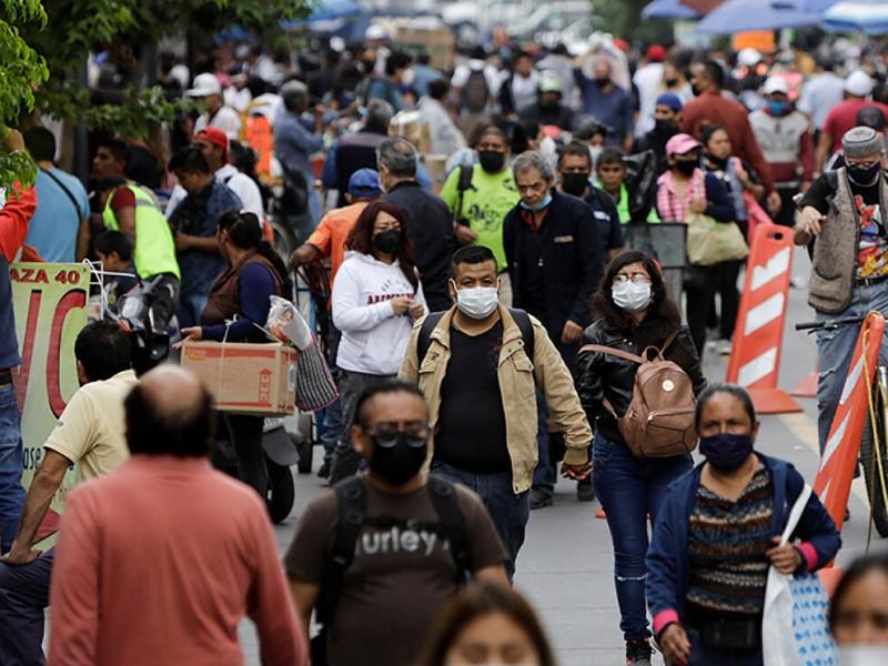 México vive tres días consecutivos de cifras máximas de contagios